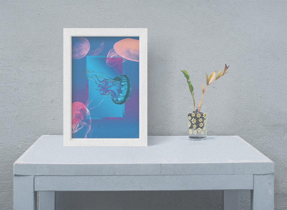 Medusa, 12x16, 35$