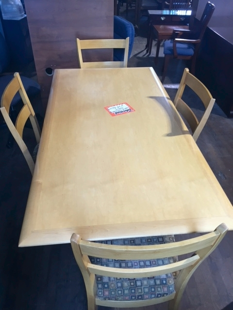 Foot Maple Conference Table With Chairs EllisVanPelt Inc - 4 foot conference table