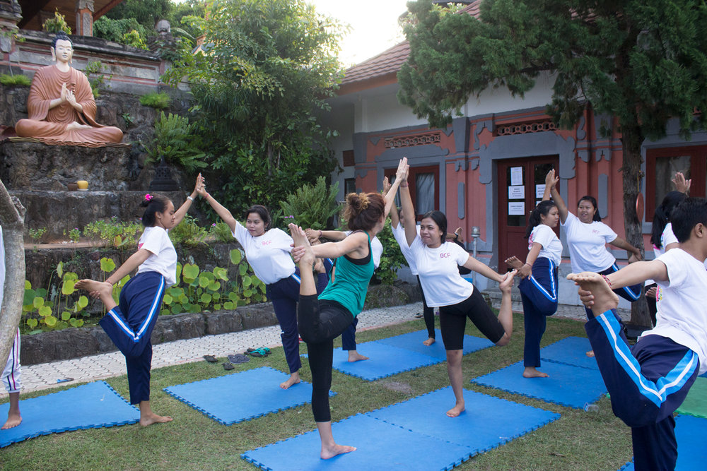 Please contact us if you are interested in volunteering at our future yoga camps!
