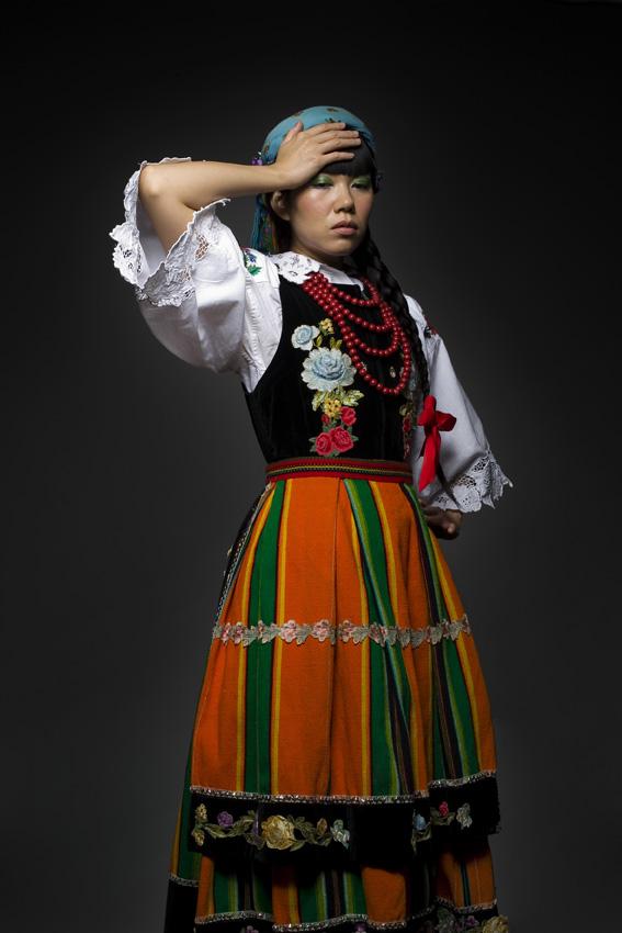 Miu Japan |  Łowicz costume