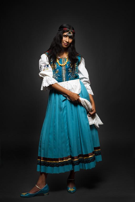 Maya India | Kaszuby costume
