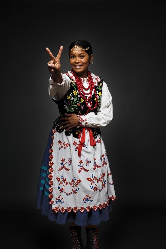 Farhana Bangladesh | Rzeszów costume