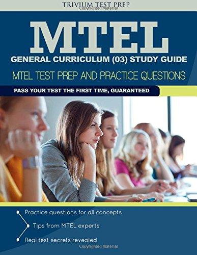 MTEL General Curriculum (03) Study Guide