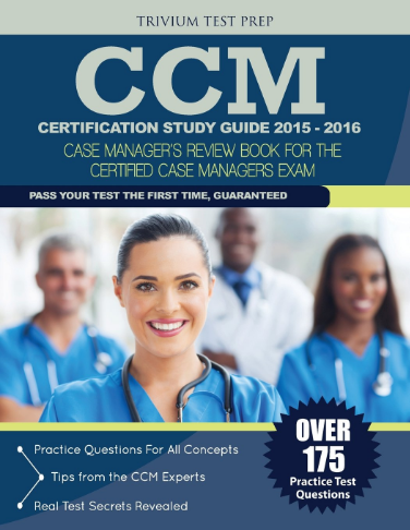 CCM Certification Study Guide Review Book