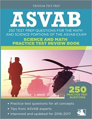 ASVAB Test Prep Questions Science and Math Practice Test Review Book
