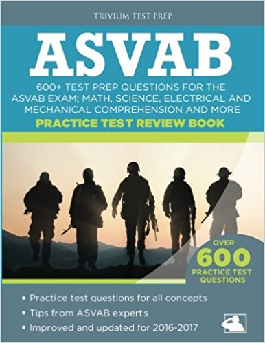 ASVAB Practice Test Review Book Test Prep Questions