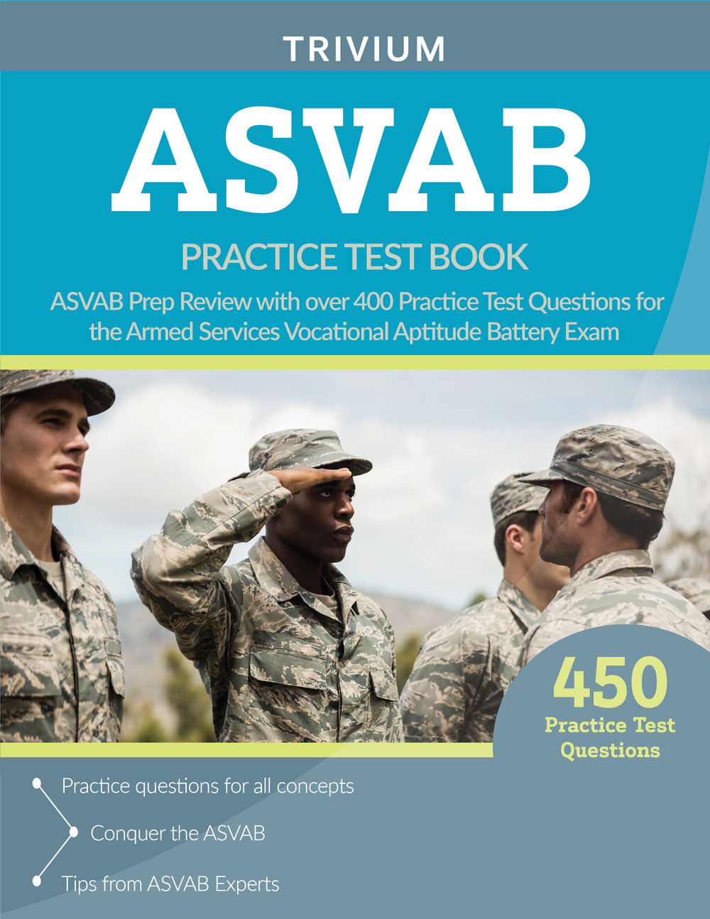 ASVAB Practice Test Book Prep Review Questions