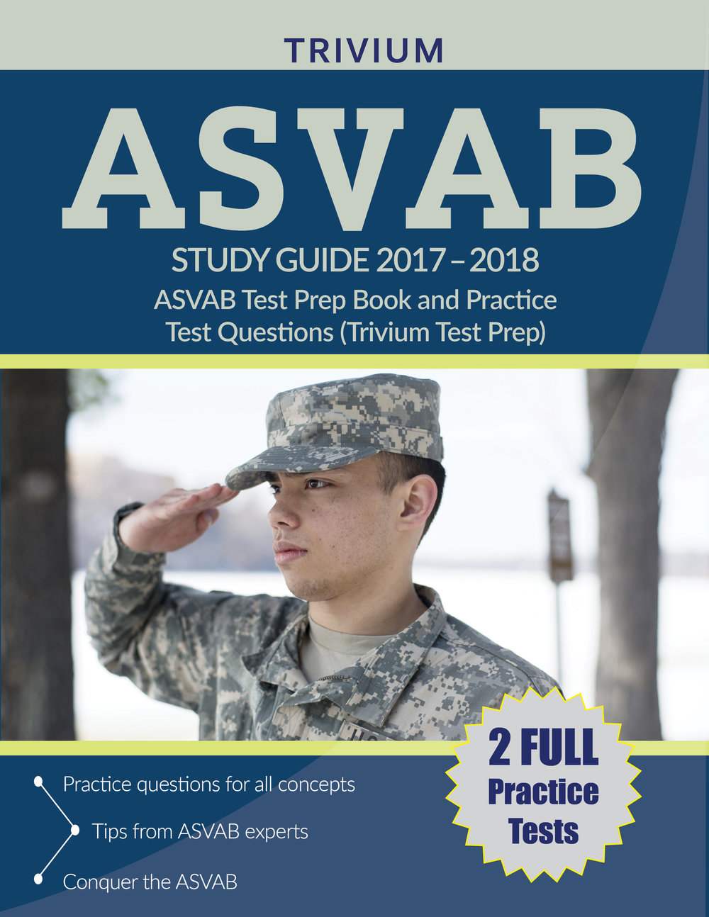ASVAB Study Guide Test Prep Book and Practice Test Questions