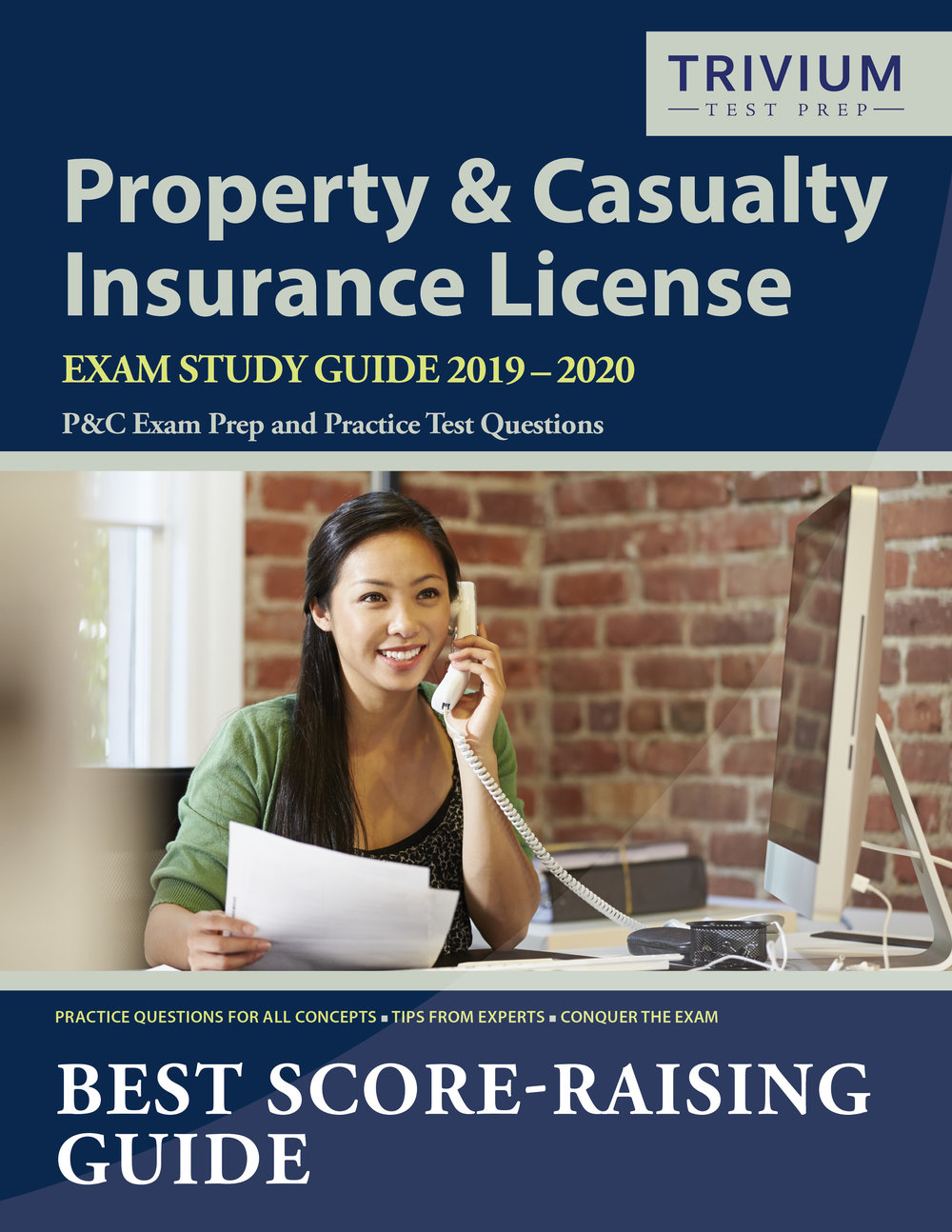 Property and Casualty Insurance License Exam Study Guide Prep and Practice Test Questions