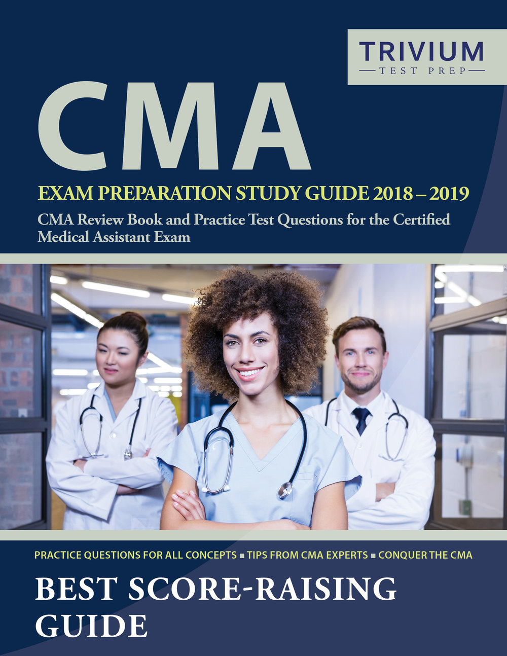 CMA Exam Preparation Study Guide Review Book and Practice Test Questions