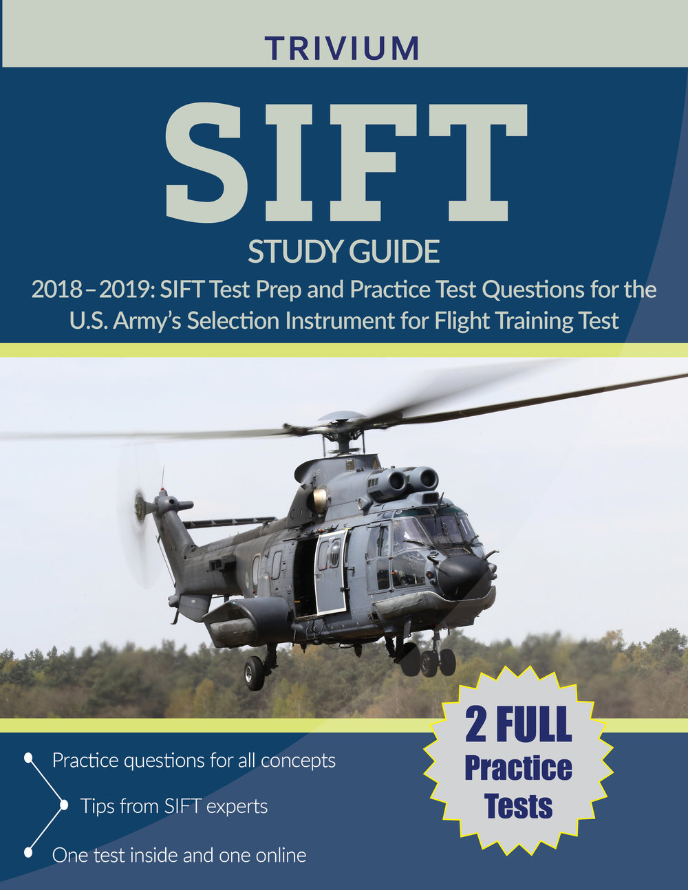 SIFT Study Guide Test Prep and Practice Test Questions