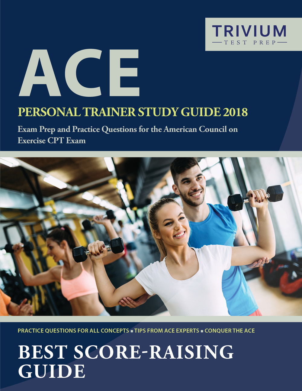 ACE Personal Trainer Study Guide Exam Prep and Practice Test Questions