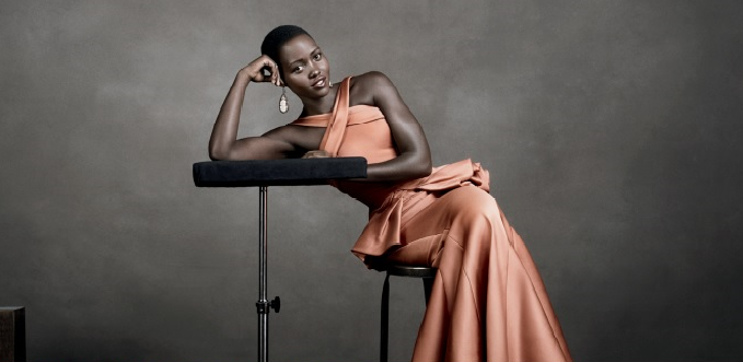 Lupita Nyong'o for Vogue by Christian MacDonald