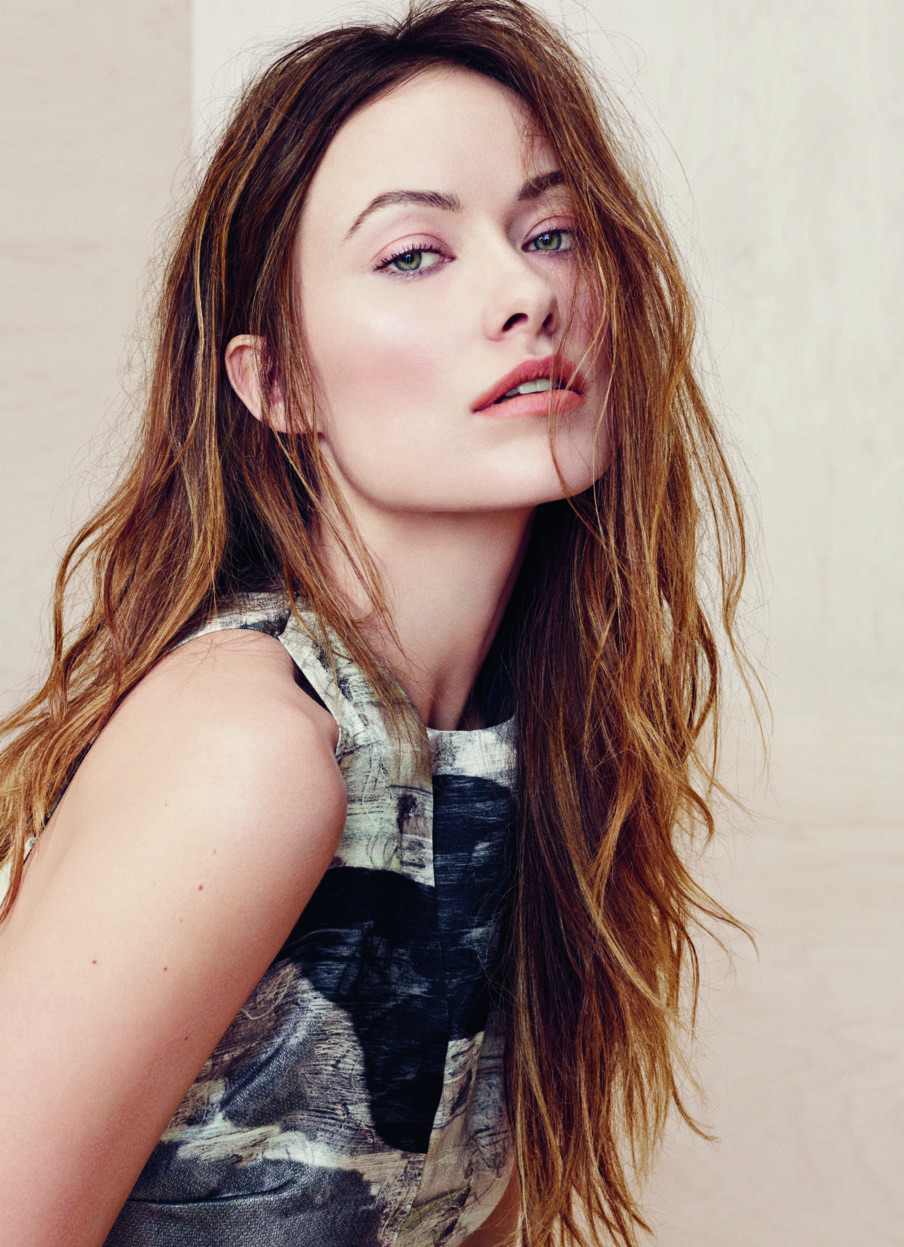 Olivia Wilde for InStyle by Kerry Hallihan