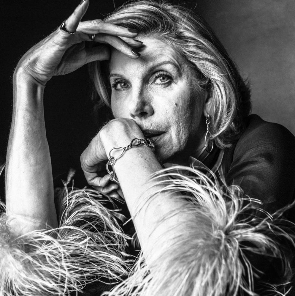 Christine Baranski by Victor Demerchelier