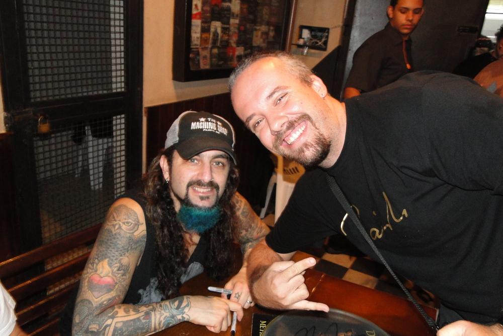 com Mike Portnoy (Dream Theater, etc.), 2014