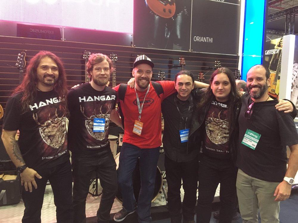 Aquiles, Cristiano, Gilson, Nando, Pedro e Daniel