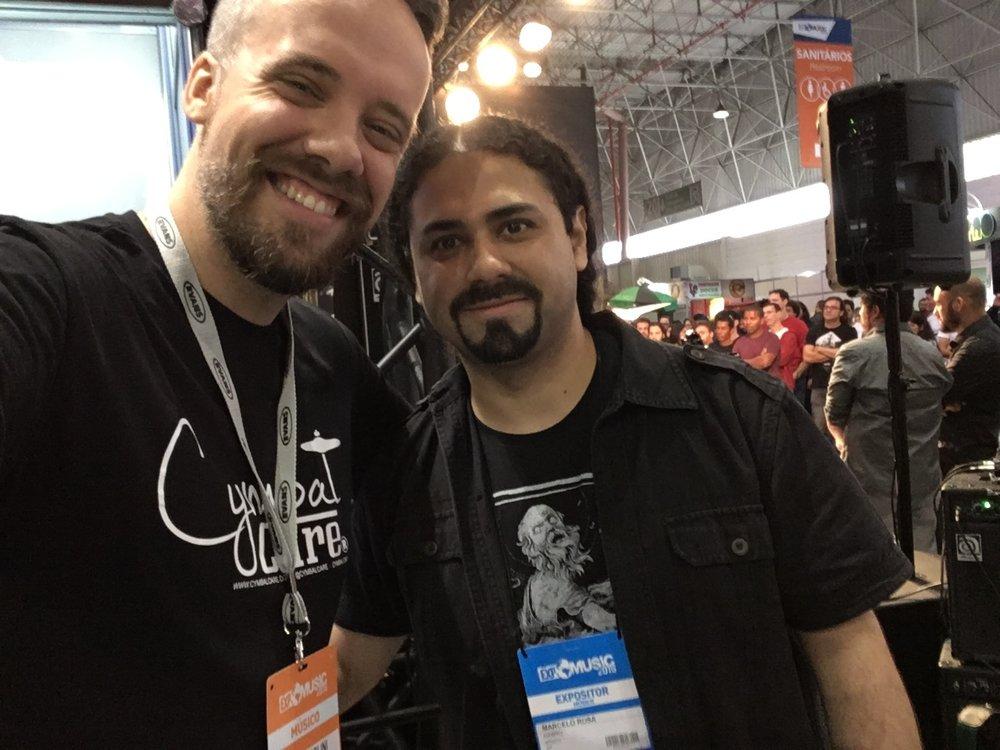 com Marcelo Rosa (guitarrista)