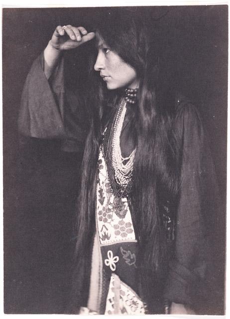 Zitkala-Sa, ca. 1898, photographed by Gertrude Kasebier