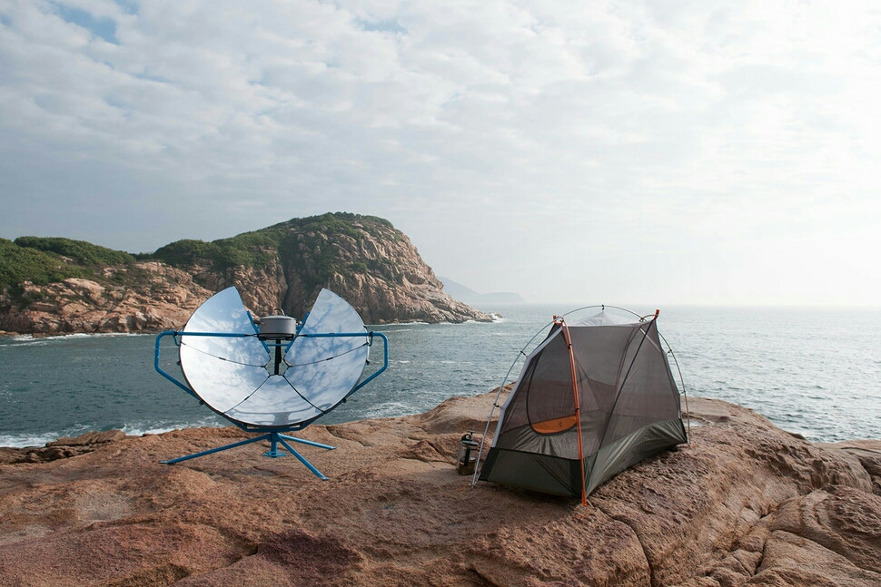 SolSource, perfect for camping.