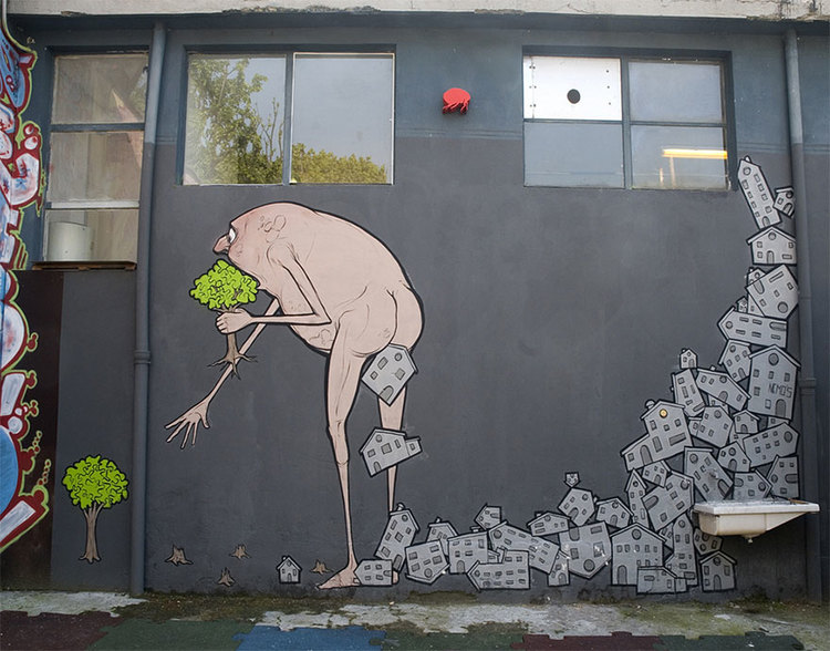 Street Art Pieces That Tell The Uncomfortable Truth Using Simple Slogans And Provocative Images To Spread Important Inspiring Ideas In Ways Are