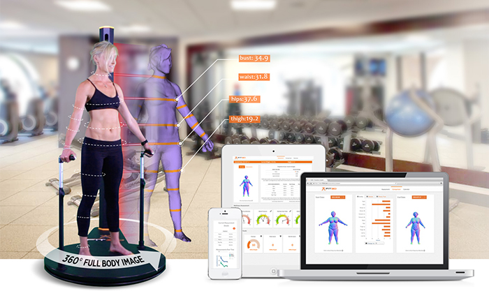 Full-body physical health scanner.
