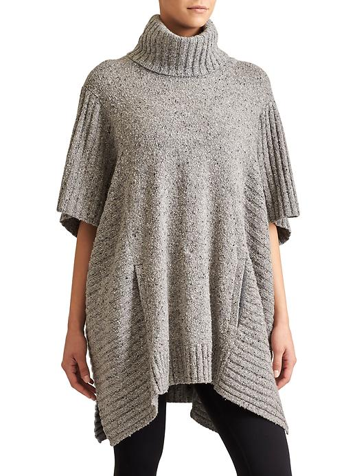 Athleta Passage Sweater Poncho