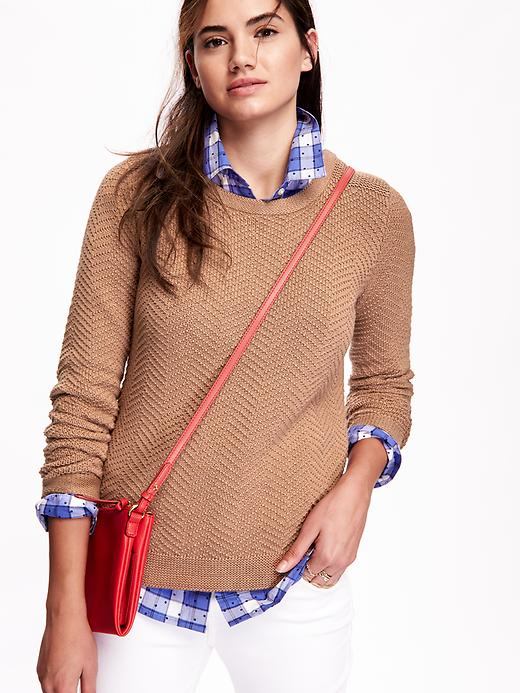 Old Navy's Textured Chevron-Stitch Sweater