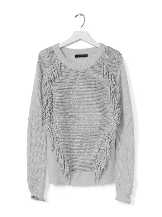Banana Republic's Fringe-Front Pullover