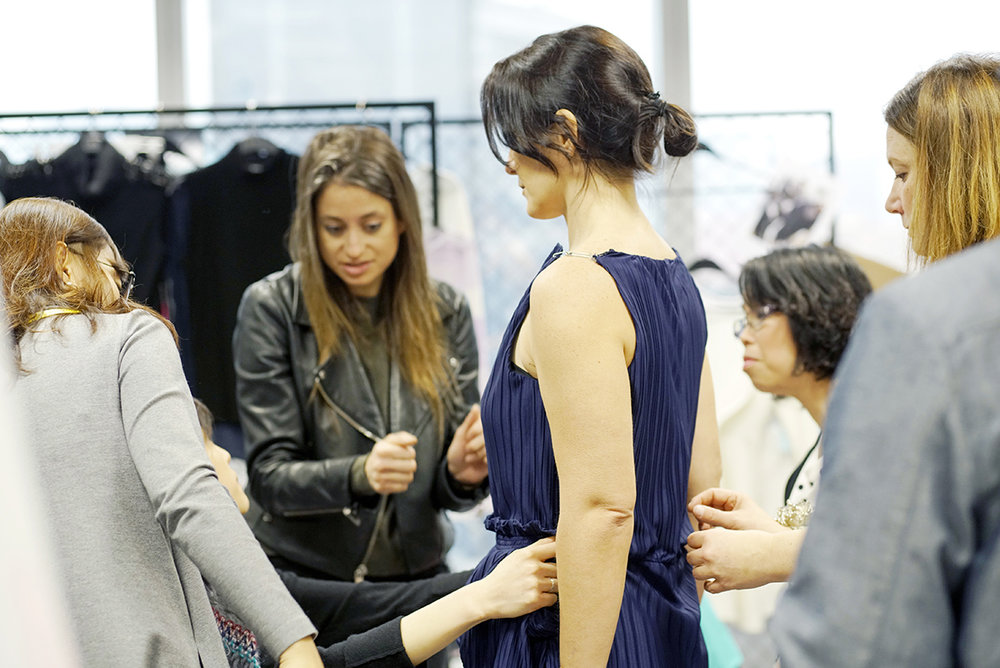 Banana Republic design, merchandising and fit teams work with vendors and fabric sourcing partners on-site to translate their designs into clothing customers will love.
