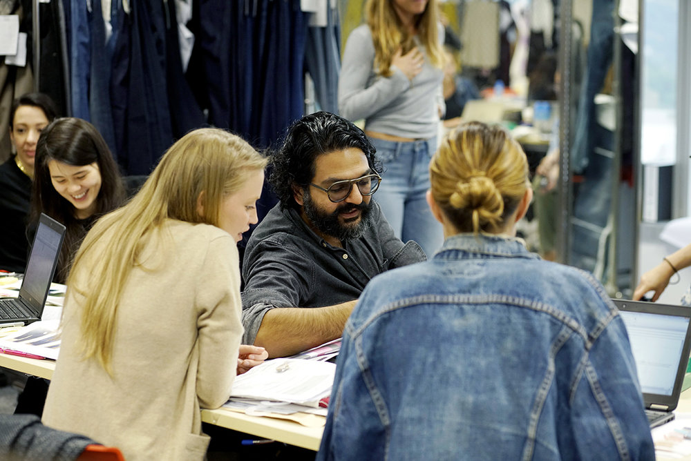 BR design and merchandising teams work together to ensure each piece of clothing is designed with the customer in mind.