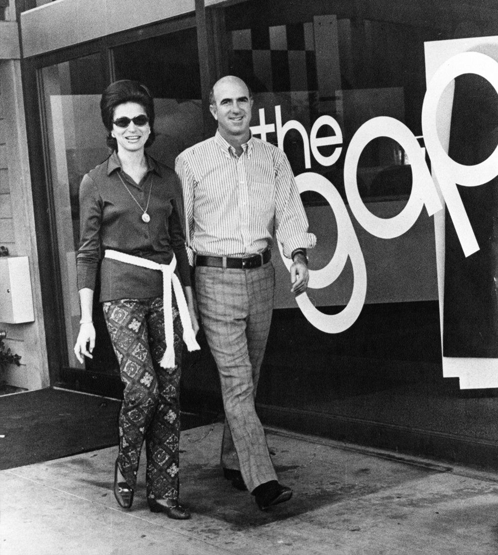 Doris Don Fisher - First Gap store.jpg