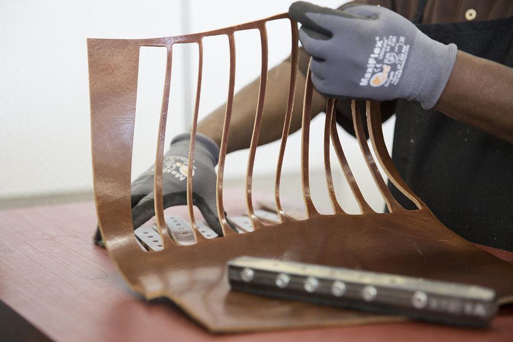 Gap leather manufacturing Circa of America 2