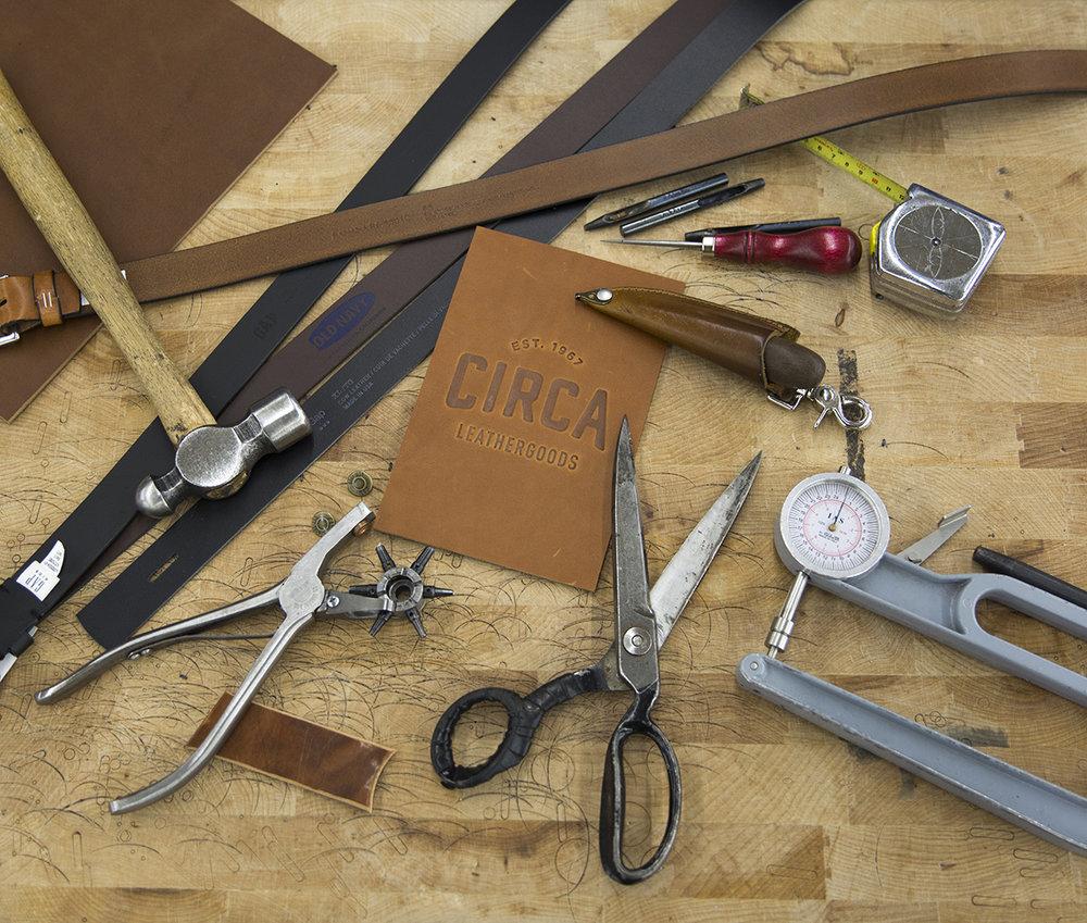 Gap leather manufacturing Circa of America 6