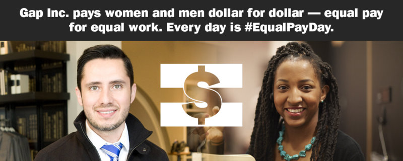 Gap Inc. equal pay men women