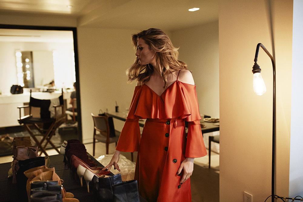 Olivia Palermo Banana Republic dress 3