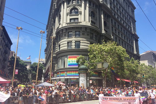 San Francisco GAP PRIDE 2017