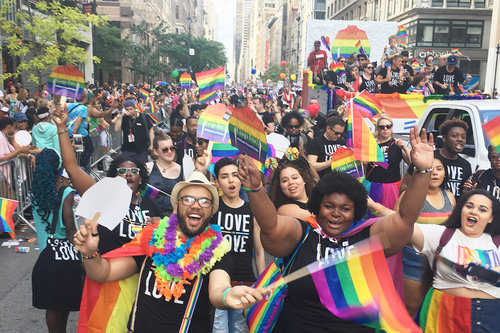 PRIDE 2017 NYC Gap