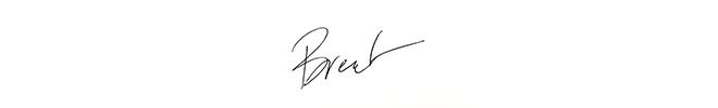 Brent Hyder signature