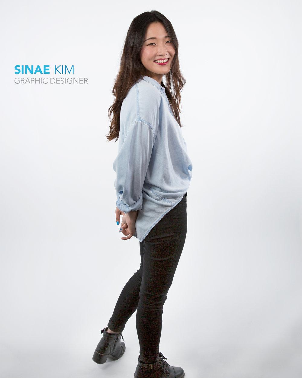 Sinae Kim Graphic Designer