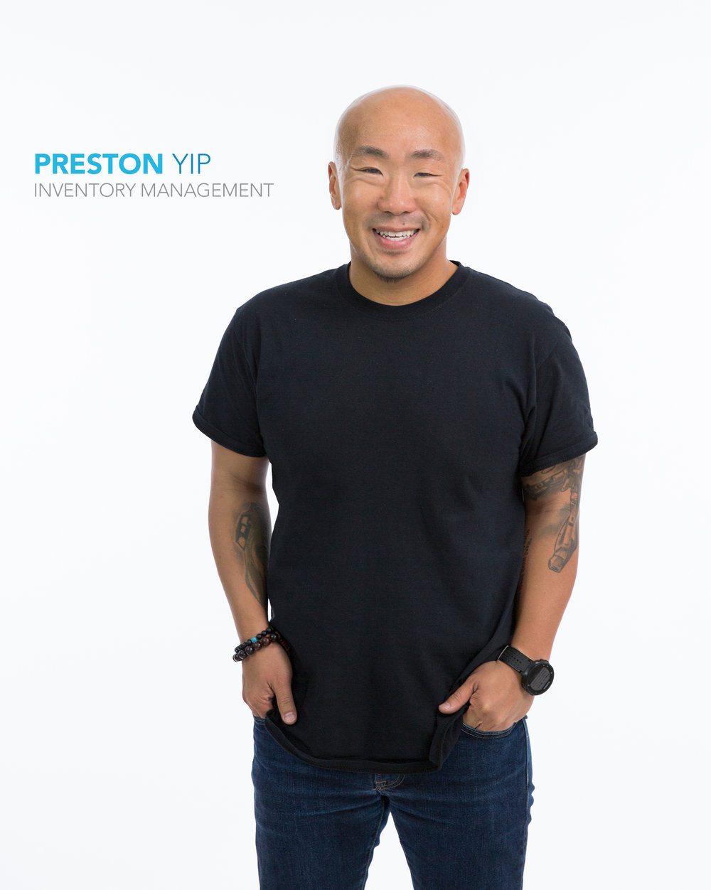 Gap Inc. employee Preston Yip