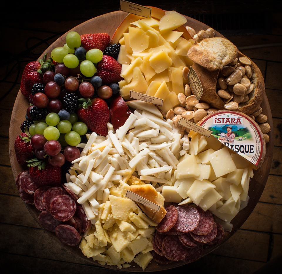 If you get only one thing from us for your party, make it one of our signature cheese boards.