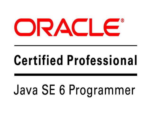 Oracle Certifield Java Programmer