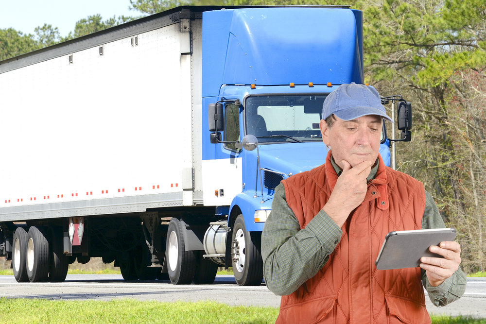 Mobile, Real Time Communication with Truck Drivers