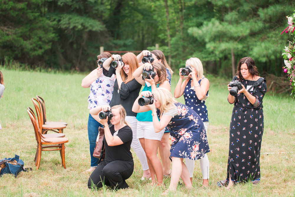 We look like paparazzi, right?? © Katelyn James Photography