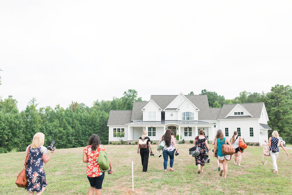 Back to the house! It's pretty, huh? © Katelyn James Photography