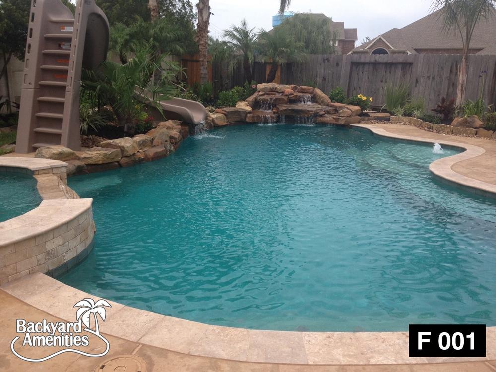 Pools U2014 Backyard Amenities | Houston Pool Builder   In Ground, Custom Pool  Designs