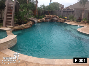 Freeform Pools — Backyard Amenities | Houston Pool Builder - In ...