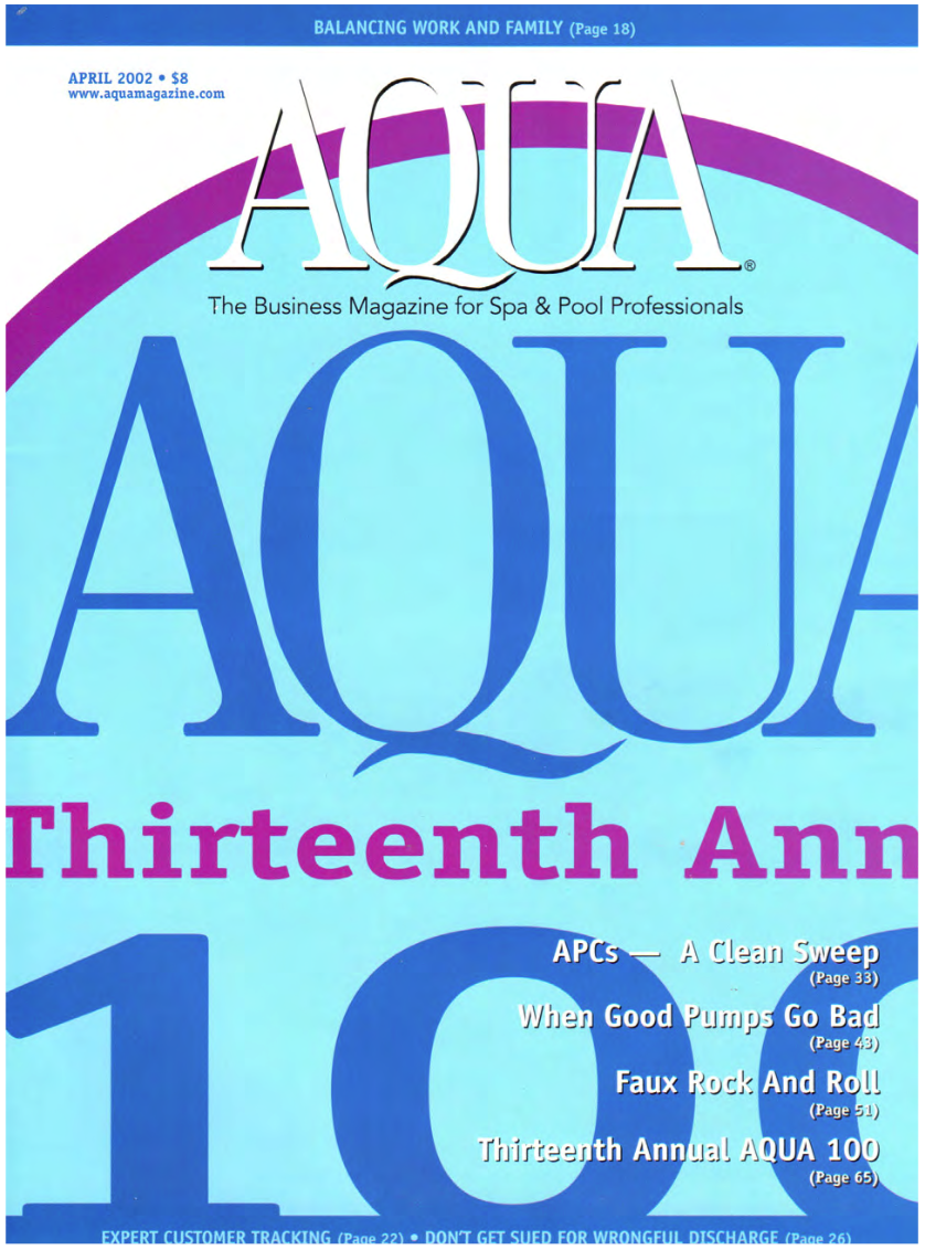 Aqua Magazine (April 2002)