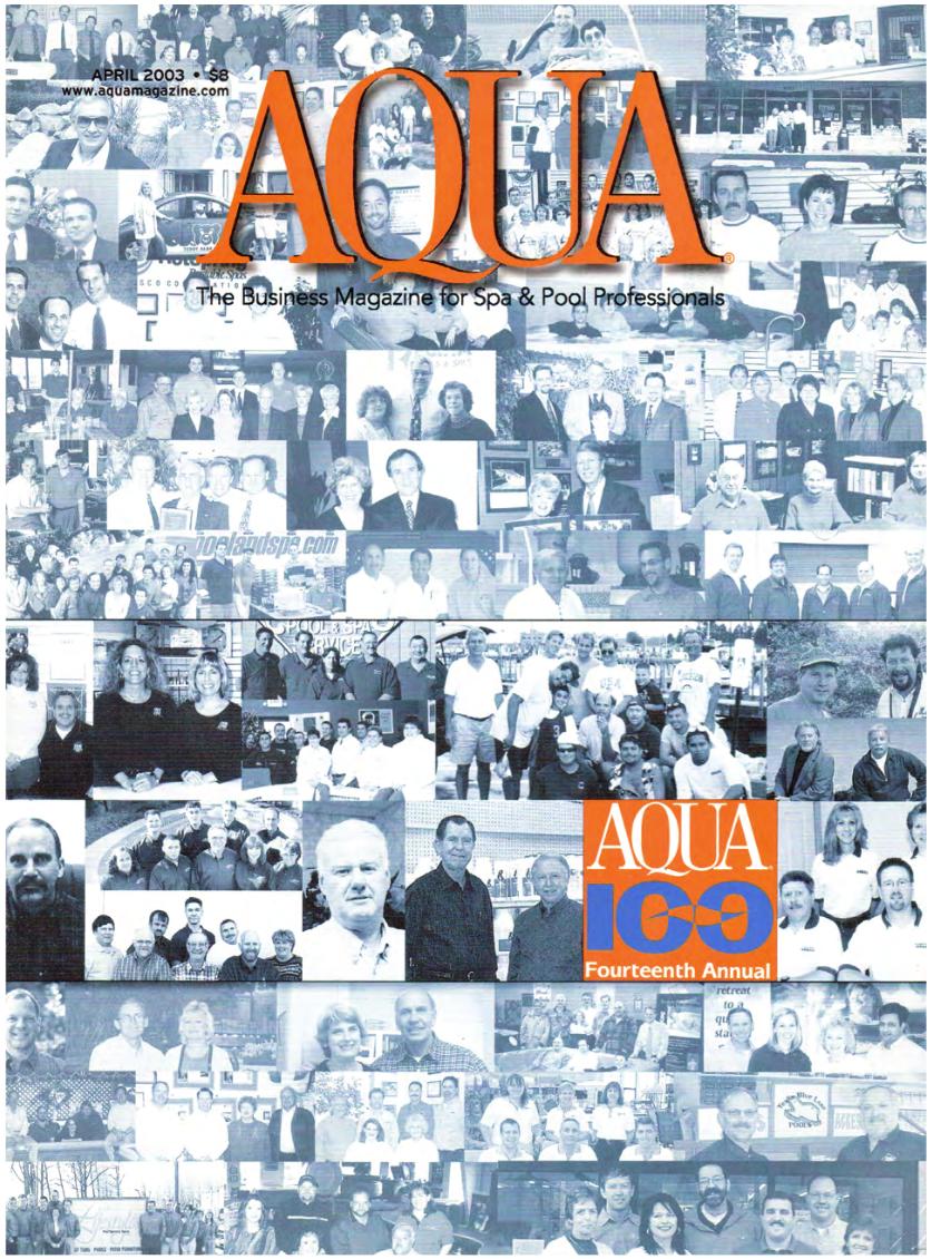 Aqua Magazine (April 2003)